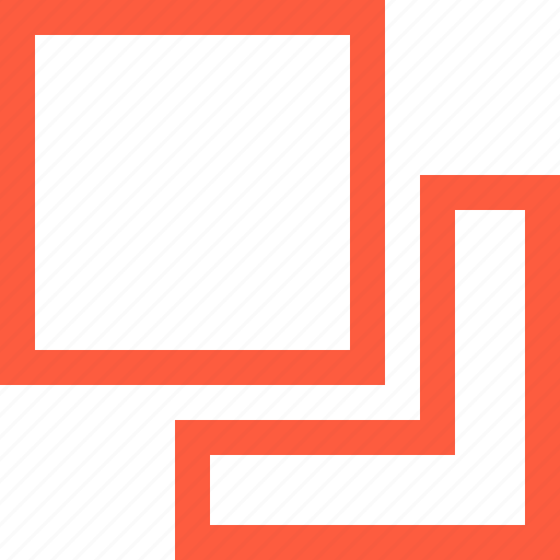 arrange, design, form, front, function, layer, shape icon