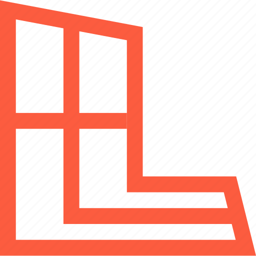 angle, design, function, grid, perspective, tool icon