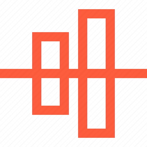 align, center, design, function, interface, tool, vertical icon