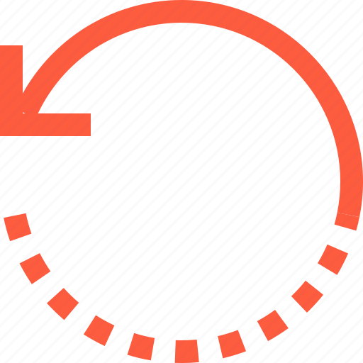 counterclockwise, design, function, left, rotation, tool icon