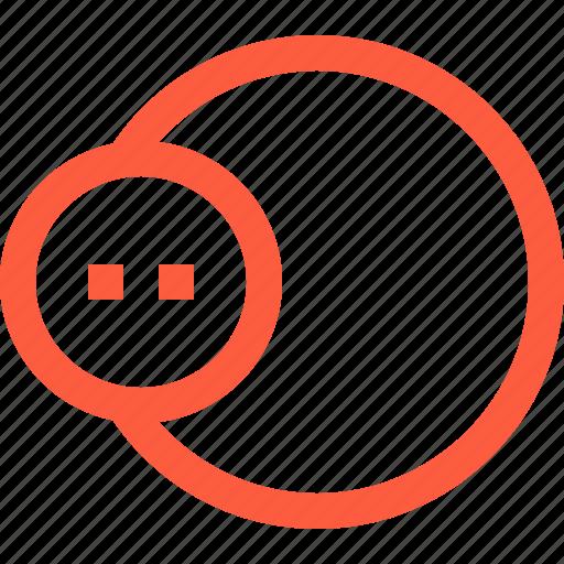 bubble, circle, design, form, shape, tool icon