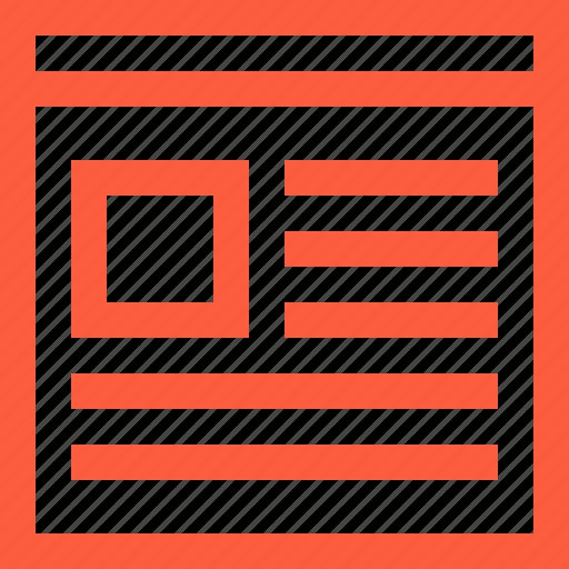 design, layout, shape, view, web, webpage, website icon