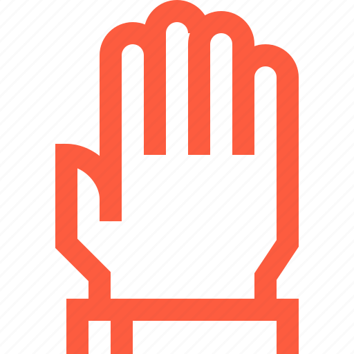 hand, open, pointer, sign, up icon