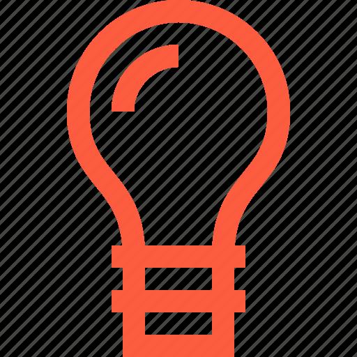 bulb, eureka, idea, illumination, light, lightbulb icon