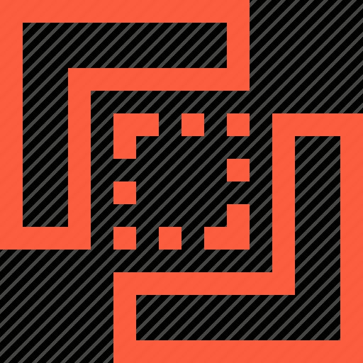 block, frame, inner, selection icon