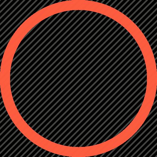 circle, figure, form, geometrical, round, shape, sphere icon