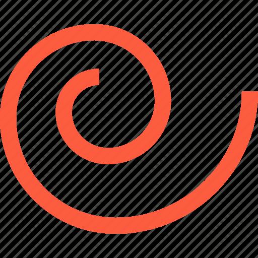 figure, form, gyre, shape, snail, spiral icon