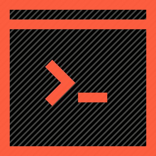 code, command, programming, script, terminal, window icon