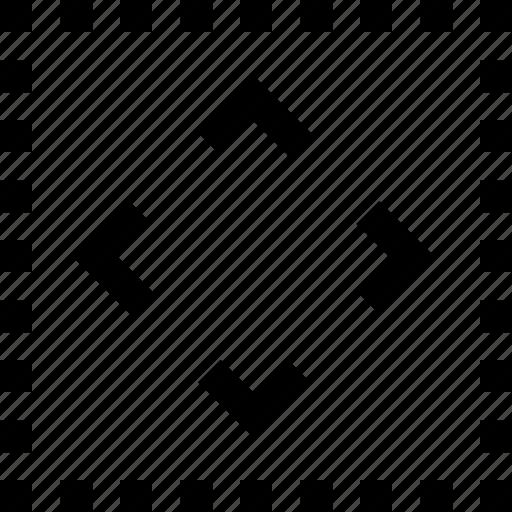 line, mini, move, tool icon