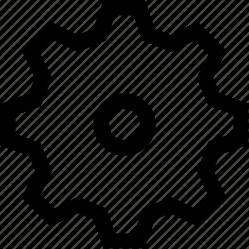 Cog, gear, wheel, work icon - Download on Iconfinder
