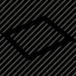 dimensional, line, mini, shape, three icon