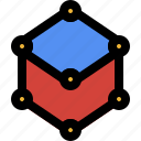 illustration, artwork, digital, drawing, geometry, shape, layout icon