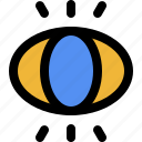illustration, artwork, digital, drawing, view, review, eye icon