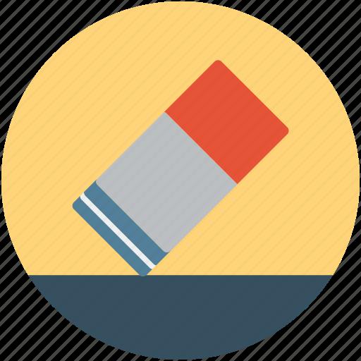 education rubber, eraser, remove, rubber, school rubber, text remover rubber, vinyl erasers icon