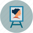 art, art work, design, painting, photograph art icon