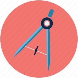 compass, compass art design, compass pointer, compass tool, designing, geometry icon