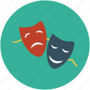 comedy, design, disguise, entertainment, face cover, mask, mouth cover icon