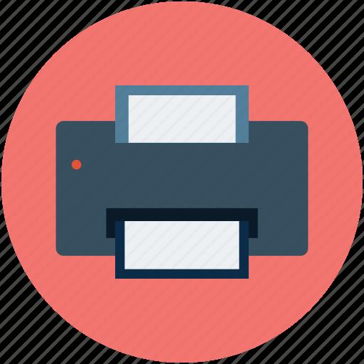 facsimile, fax, fax machine, printer device, tele copying icon