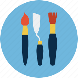 art, brush a cutter, design, draw, pencil, pencil and brush, pencils icon