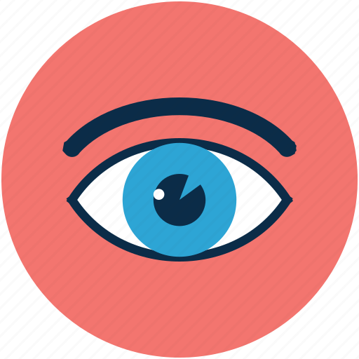 eye, eye art, eye design, search view, see, view, visible, watch icon