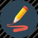 color, color fill with pencil, pencil, pencil color, pencil color fill icon