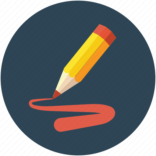 color, color fill with pencil, pencil, pencil color, pencil color fill icon