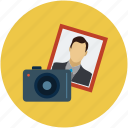 avatar, camera, camera and images, image, images, photo, photography icon