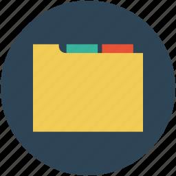 binder, documents, file, file folder, folder, stackfolder icon
