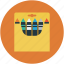 designing tool, paper pencil, pencil, pencil box, pencil pad, write icon