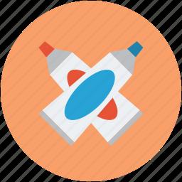 designing, designing tool, gum, paste gum icon