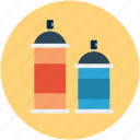 color bottle, color gum, design, draw, graphic, paint, spray icon