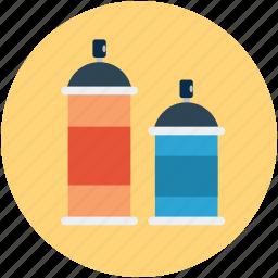 color bottle, color gum, design, draw, graphic, paint, spray icon