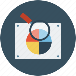 choose color, design, magnifier, magnifying, search, search color, zoom icon