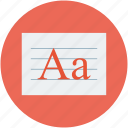 font, font designing, font style, text, text designing, text writing icon