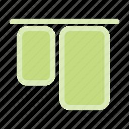 align, align elements, align top icon