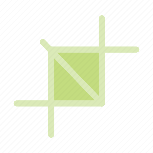 crop, crop photo, resize, resize image, shrink image icon