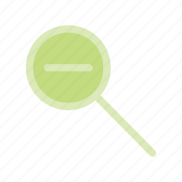lookup, magnifier, reduce, resize, shrink, zoom, zoomout icon