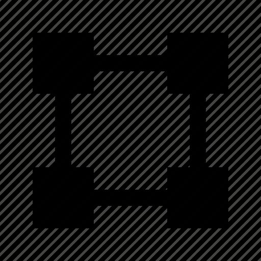 area, art, design, graphic, select icon