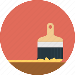 brush, color icon