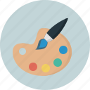 color, paint, palette icon