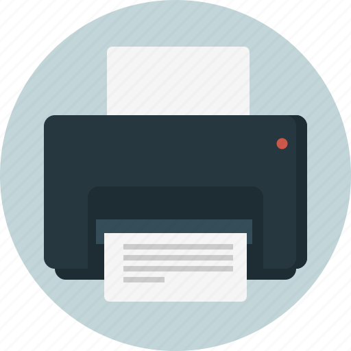 paper, print, printer icon