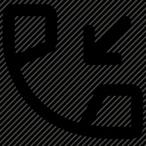 call, center, customer, incoming, smartphone, talk icon