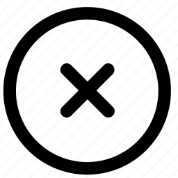 close, document, remote, remove, trash, wrong icon