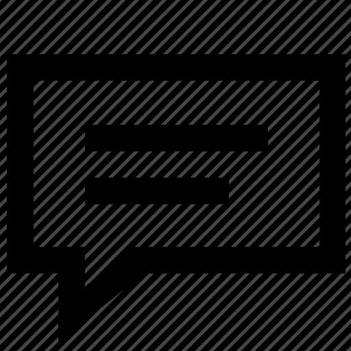 chat, conversation, envelope, letter, message, talk icon