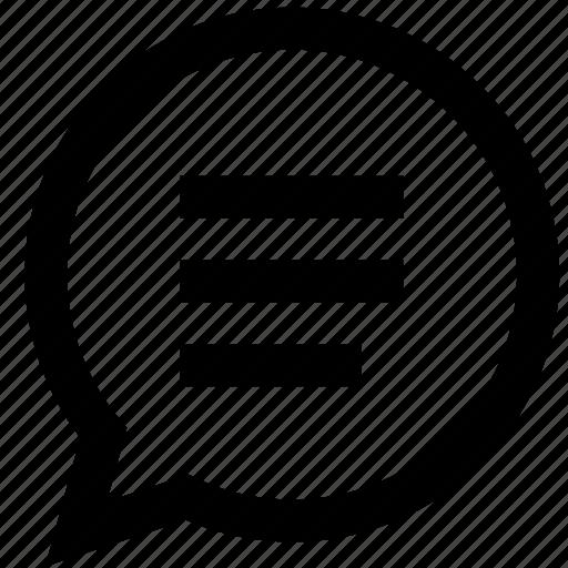 chat, conversation, envelope, letter, message, speech, talk icon