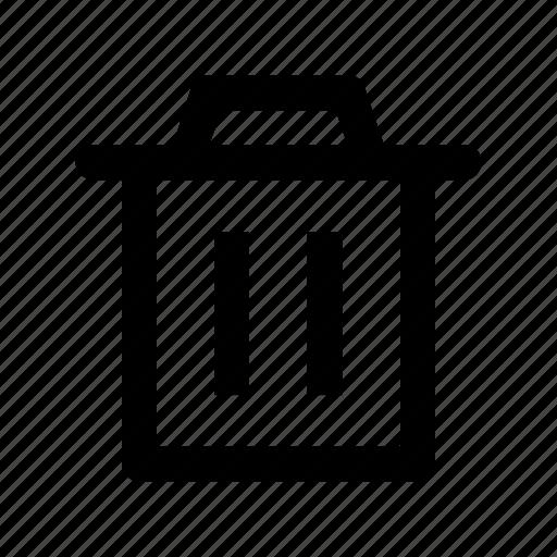 delete, erase, recycle bin, remove, trash icon