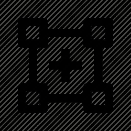design, distort, tool, transform, transform tool icon