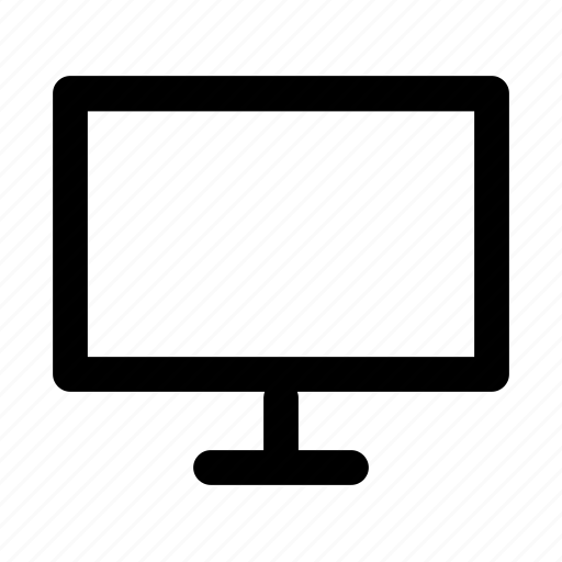 monitor, tv, view, viewport, web icon