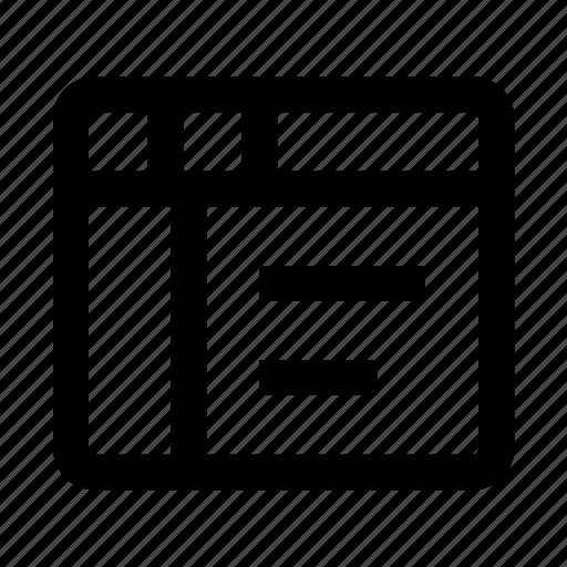 code, develope, incpect, web, web-design icon