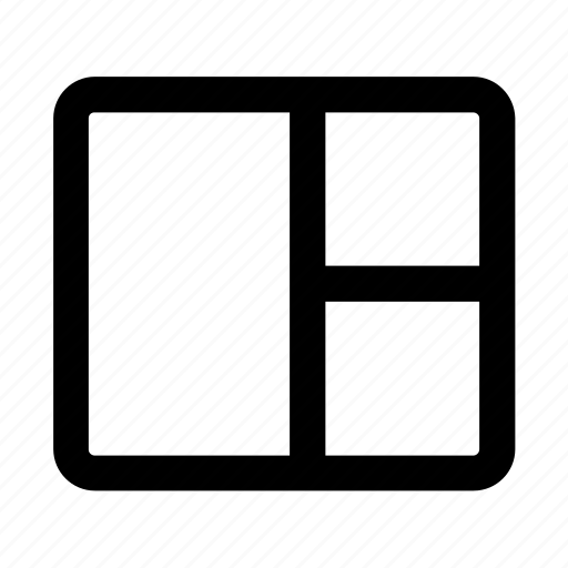 code, column, design, grid, layout, web, web design icon
